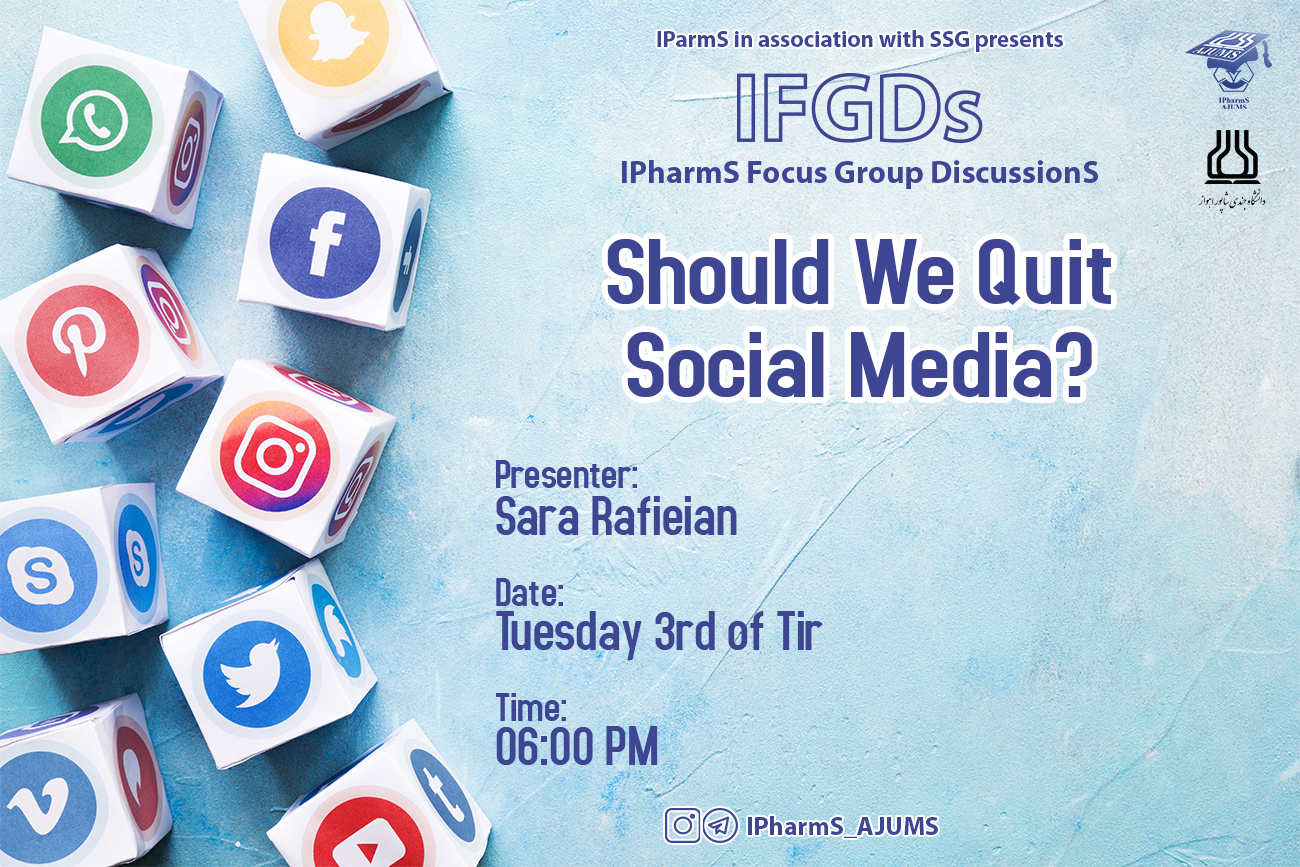 IFGDs Session 8: Should we quit social