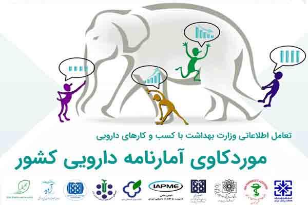 تعامل اطلاعاتی وزارت بهداشت با کسب و کارهای دارویی، موردکاوی آمارنامه دارویی کشور