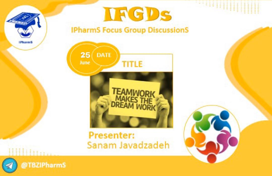 IFGDs Session 9: Teamwork makes the dream work