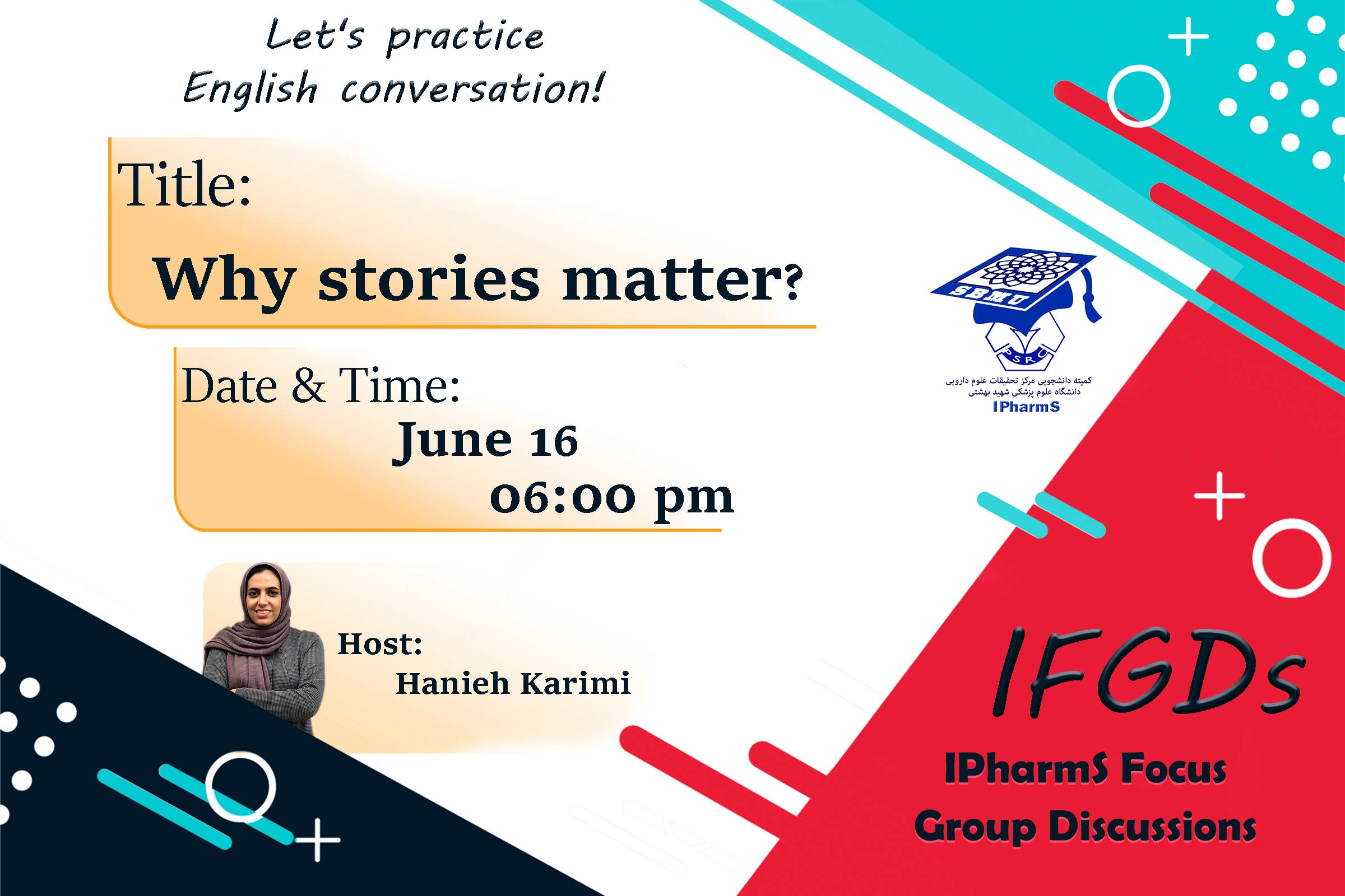 IFGDs Session 6: Why stories matter