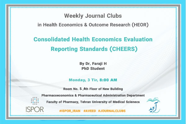 Consolidated Health Economic Evaluation Reporting Standards